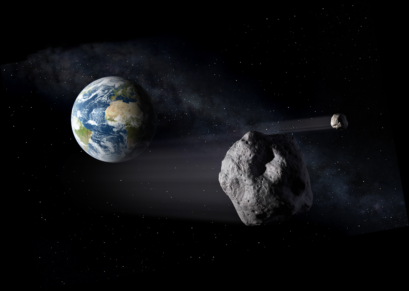 Asteroid Passing Earth - Pics about space