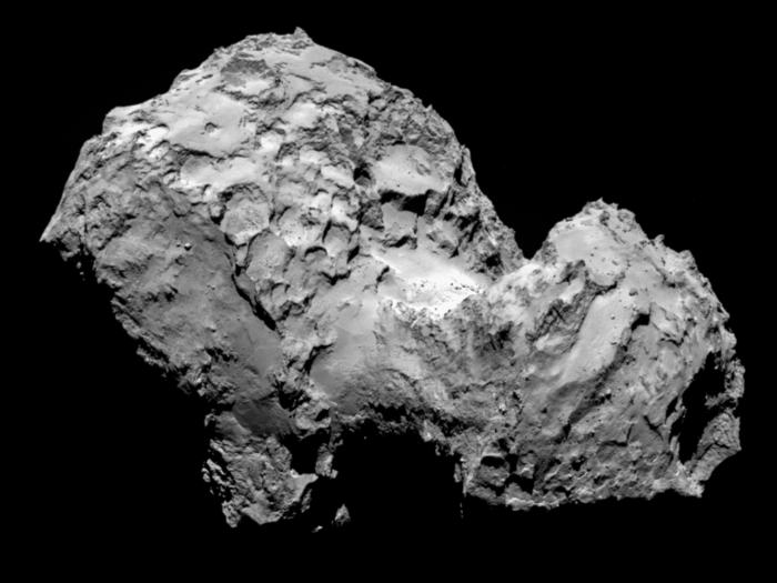 Rosetta Arrives at Comet Destination