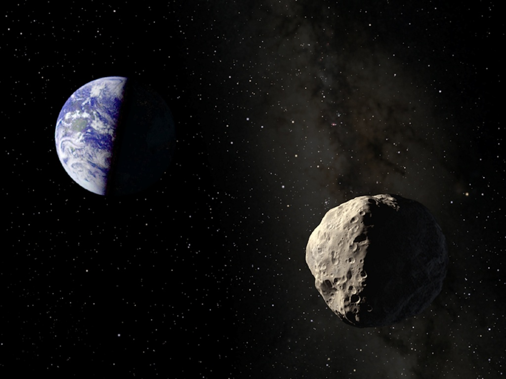 earth asteroid on depression - photo #9
